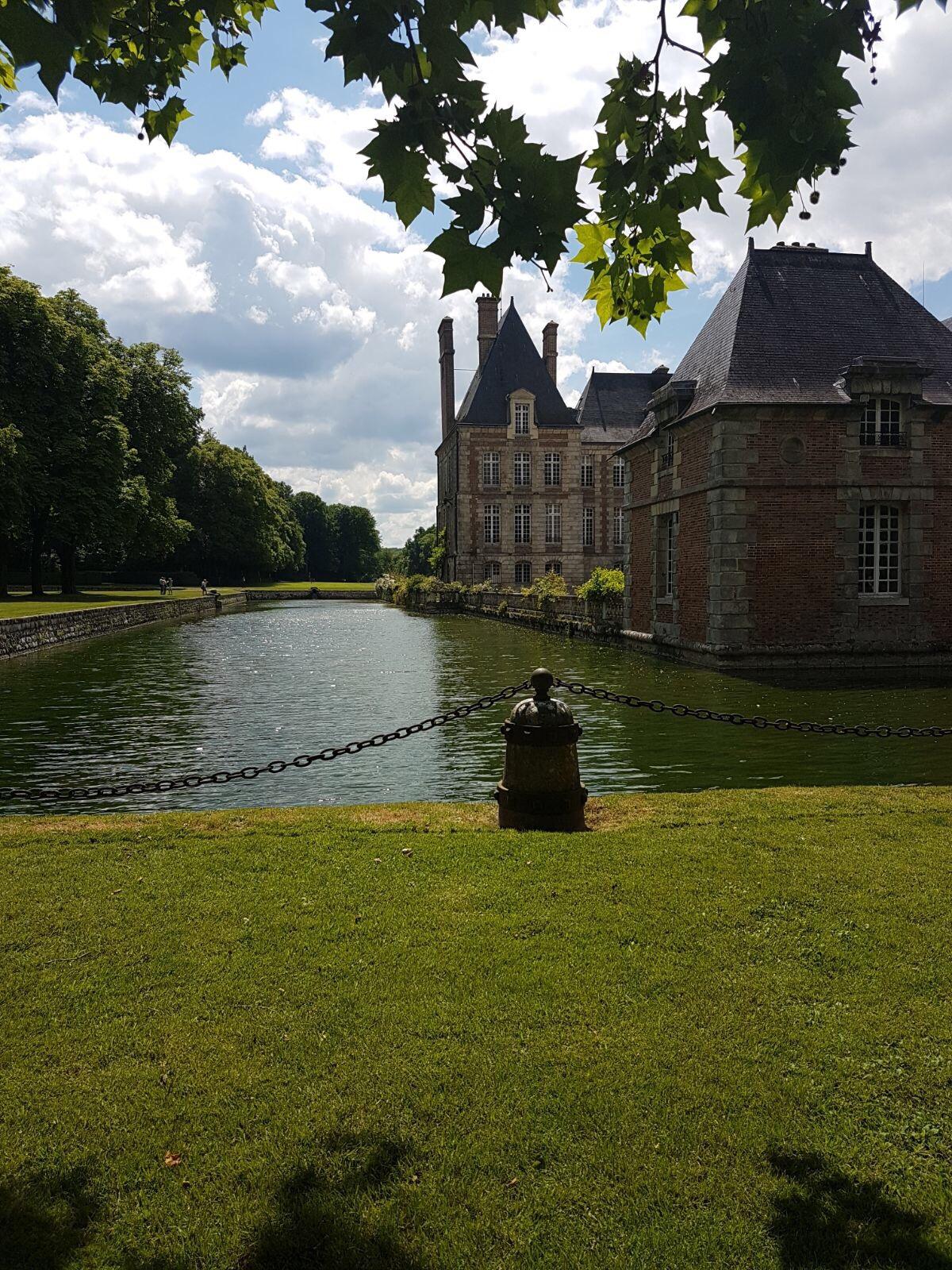Wizyta w Château de Courances