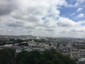 Paryż z góry, czyli na co się wdrapać część 1.