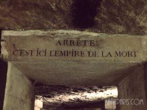 Paryskie katakumby