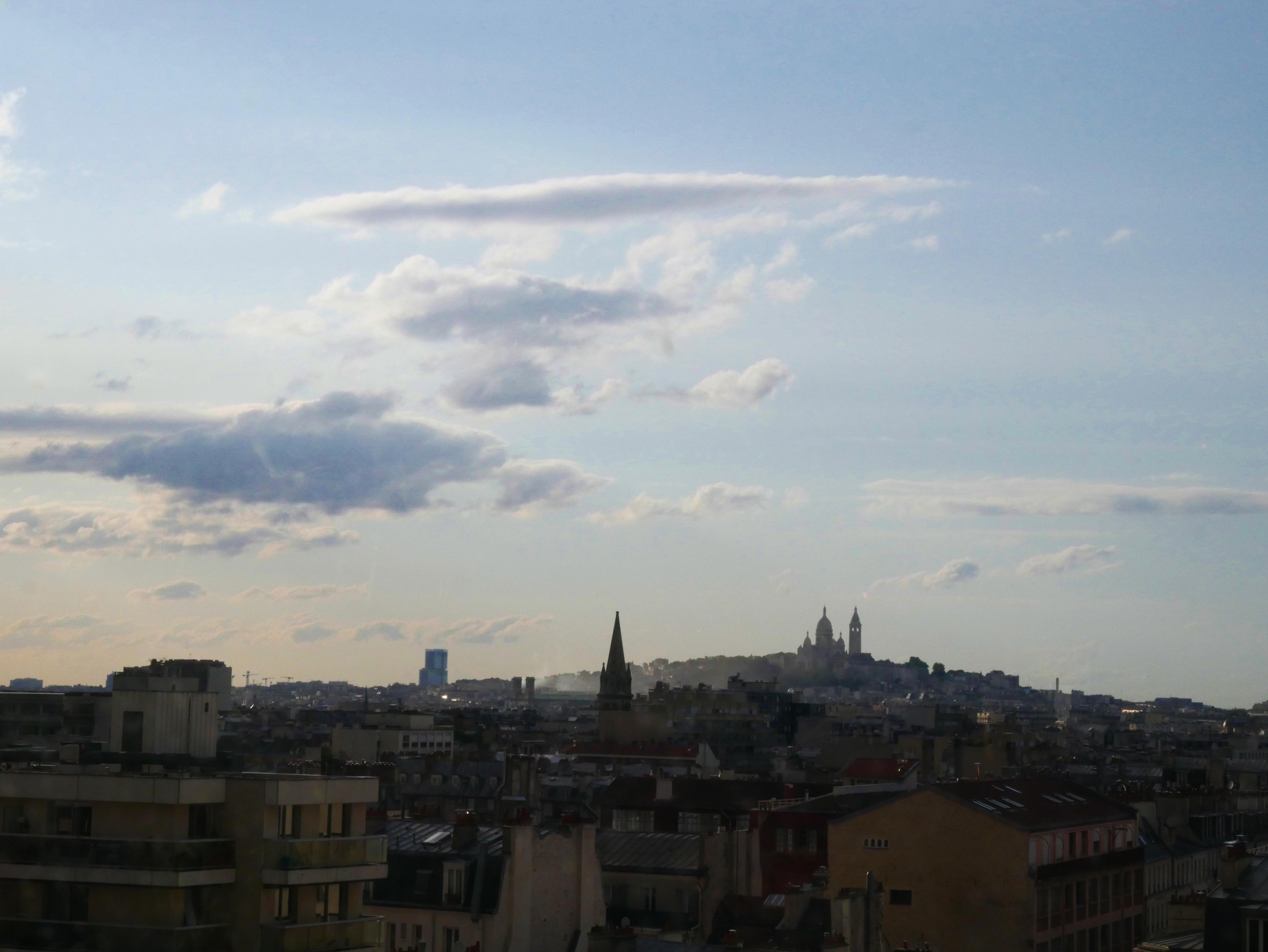 paryż widok panorama francja