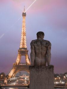 Wieża Eiffla Trocadero Paryż