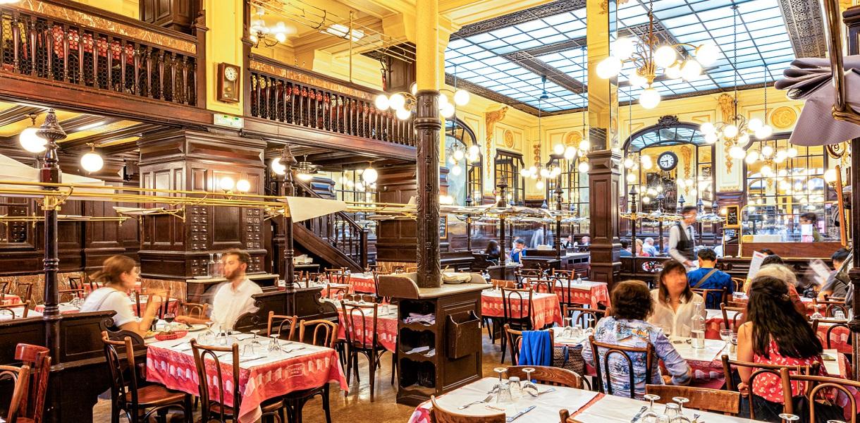tradycyjna restauracja francuska paryż