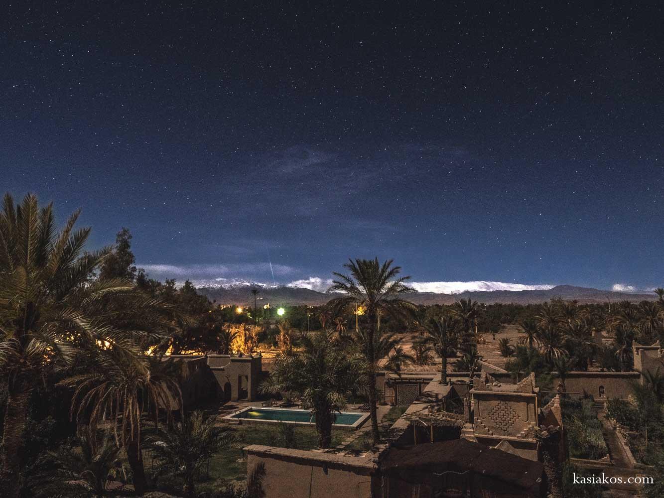 Maroko – trasa
