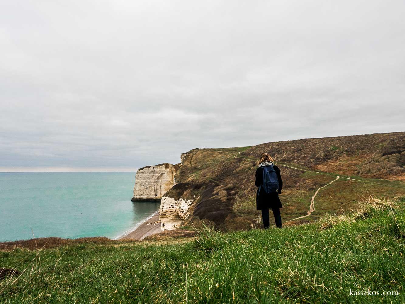 Normandia i jej piękne wybrzeże - klify