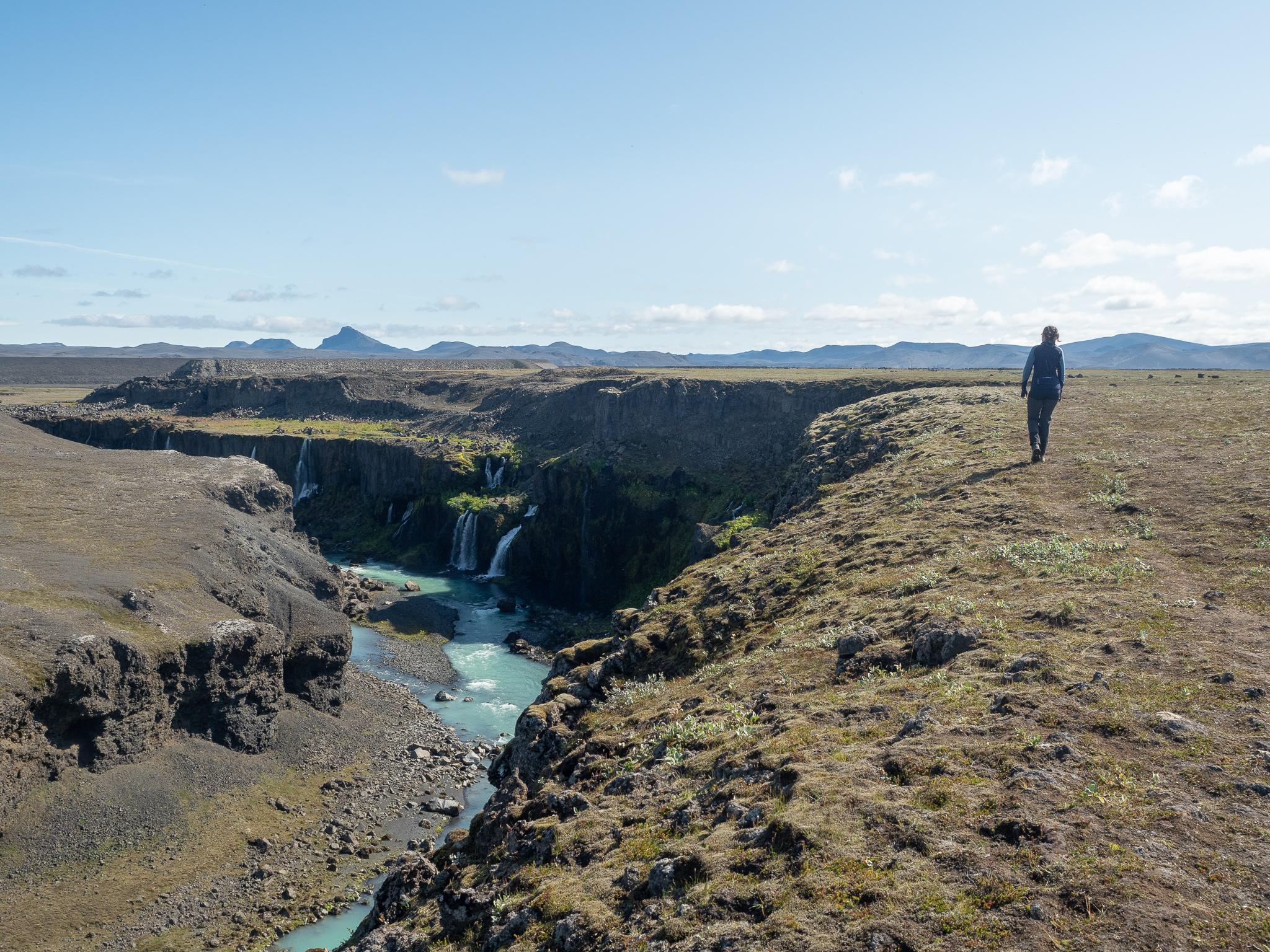 wodospad Islandia