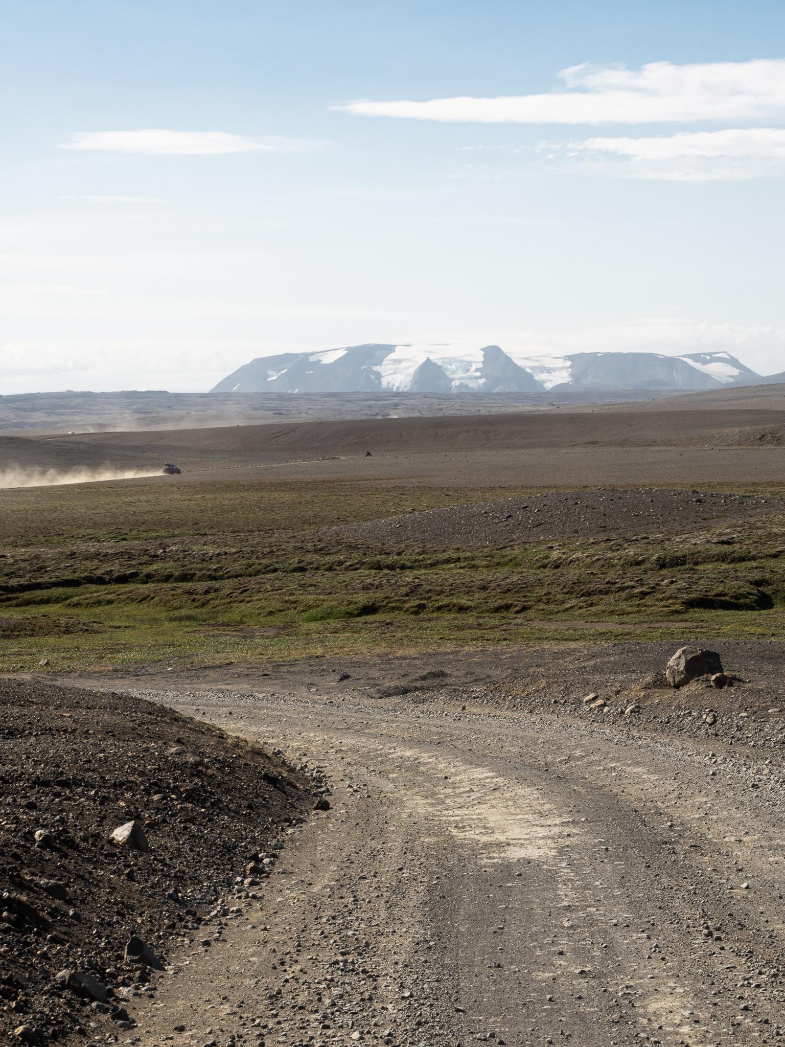 rowerem przez islandie