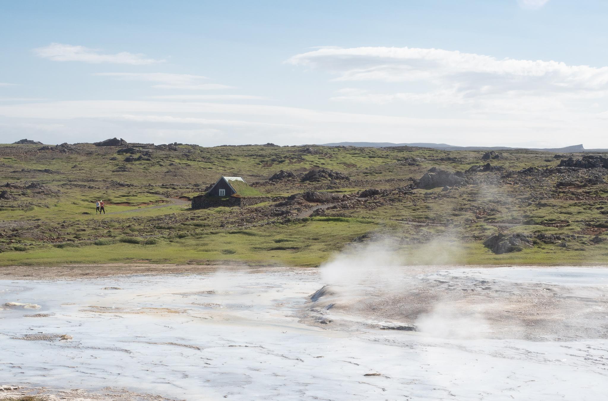 gorące źródła Islandia