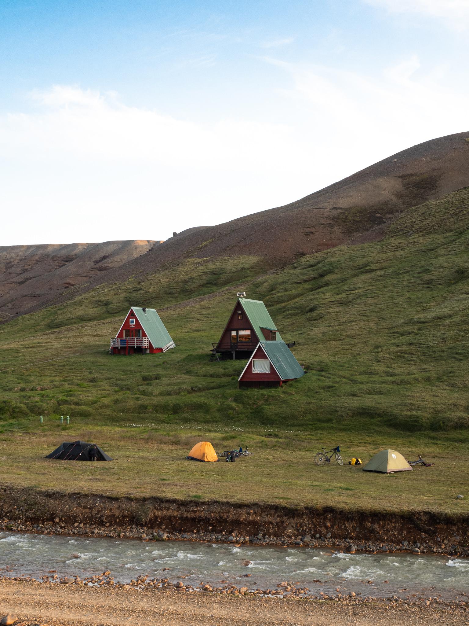 Kamping Islandia