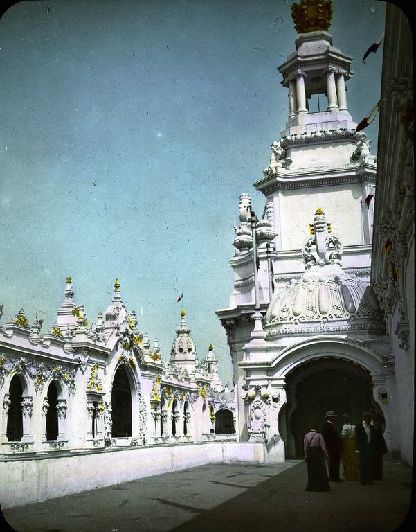 Pałac Sztuk Dekoracyjnych, Wystawa Paryska w 1900 roku