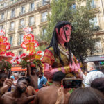parada Ganesh w paryżu