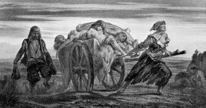 Czarna śmierć w Paryżu – zaraza 1348 roku