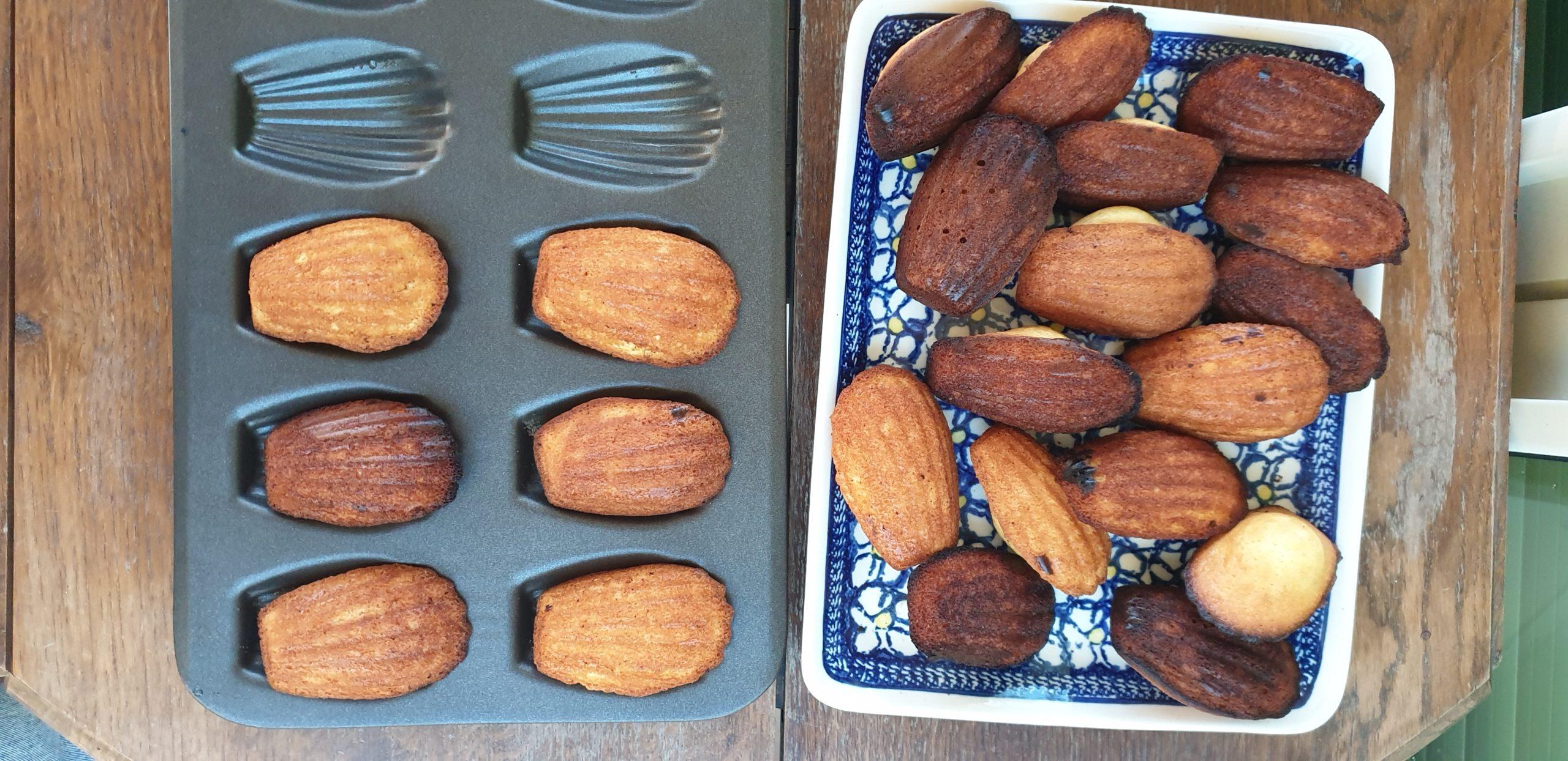 prosty przepis ciasteczka madleine