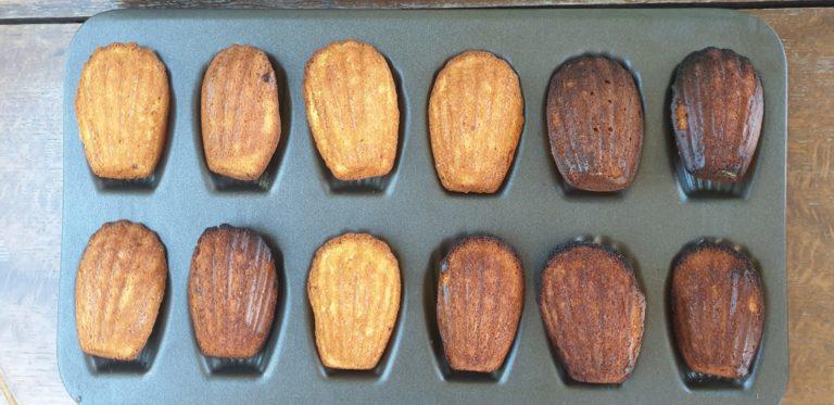 francuskie desery przepis ciasteczka madleine
