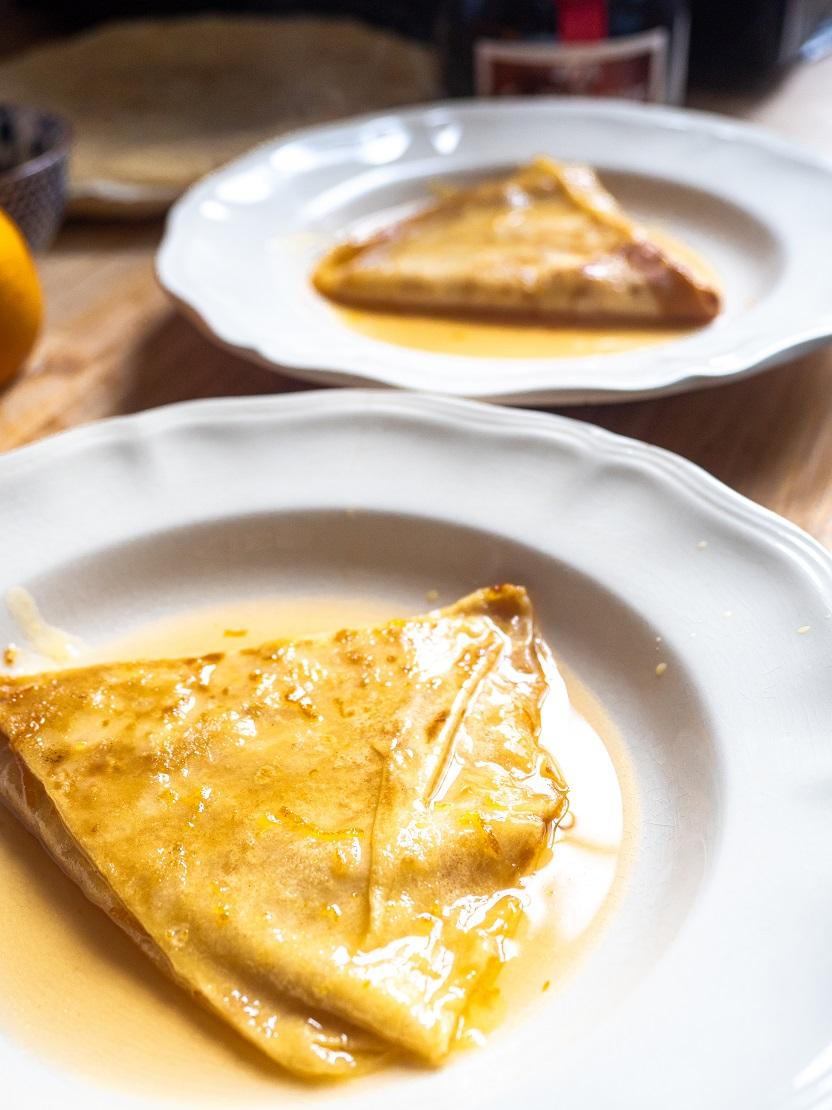 francuskie naleśniki crepes suzette