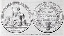 symbol Francji pieczęć