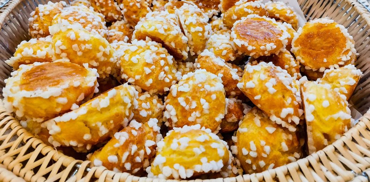 chouquettes ciasteczka
